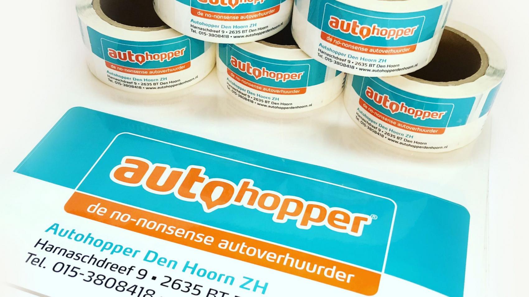 Autohopper stickers